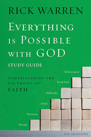 Everything Is Possible with God Study Pack: Understanding the Six Phases of Faith [With DVD]