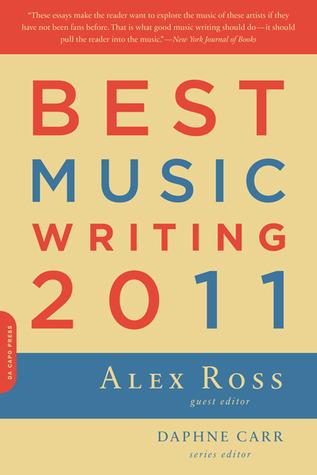 Best Music Writing 2011(Da Capo Best Music Writing)