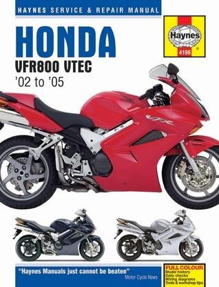 Honda VFR800 VTEC Service and Repair Manual: 2002-2004