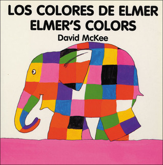 Elmer's Colours (English–Spanish)