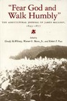 """""""Fear God and Walk Humbly"""": The Agricultural Journal of James Mallory, 1843-1877"""