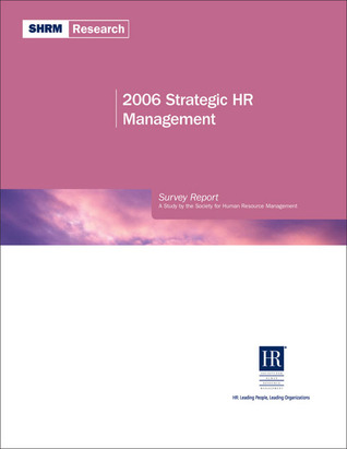 2006 Strategic HR Management Libros gratis que descargas