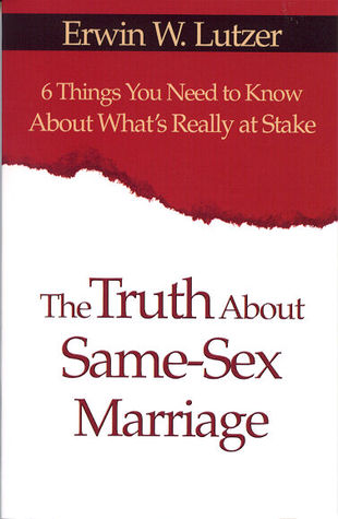 The truth about same sex marriage 1
