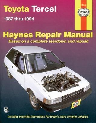 Toyota Tercel (1987-1994) Automotive Repair Manual (USA service & repair manuals)