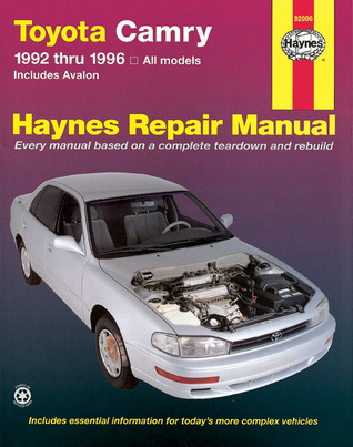 haynes toyota camry automotive repair manual all toyota camry and rh goodreads com Toyota Tis Website Vehicle Repair Manuals