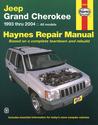 Jeep Grand Cherokee 1993 thru 2004: All Models