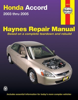 Honda Accord Repair Manual 2003-2005