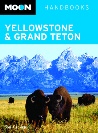 Moon Yellowstone and Grand Teton by Don Pitcher