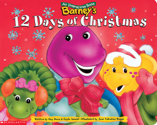 barneys 12 days of christmas - 12 Days Of Christmas Book