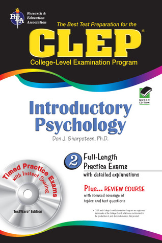 CLEP Introductory Psychology w/ TestWare CD