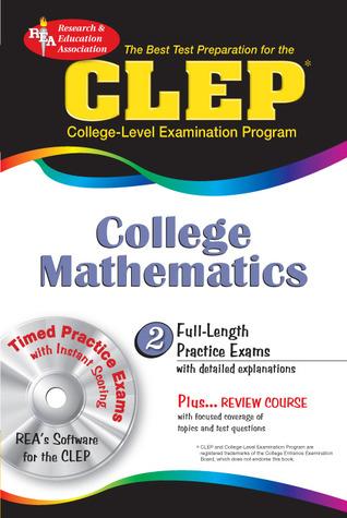 CLEP College Mathematics w/ TestWare CD by Mel Friedman