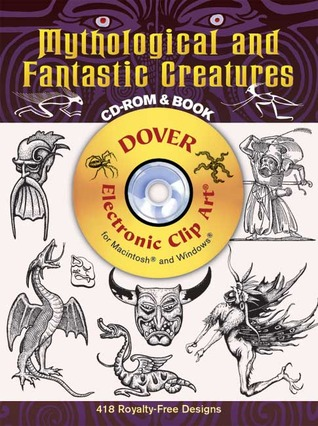 Mythological and Fantastic Creatures CD-ROM and Book
