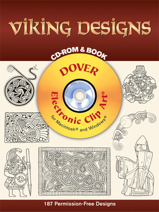 Viking designs - cd-rom and book