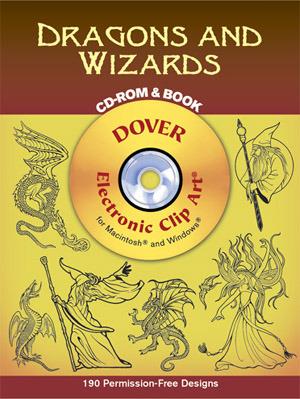 Dragons and Wizards CD-ROM and Book EPUB DJVU 978-0486995595 por Eric Gottesman