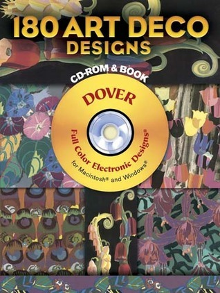 177 Art Deco Designs CD-ROM and Book