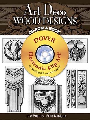 Art Deco Wood Designs CD-ROM and Book
