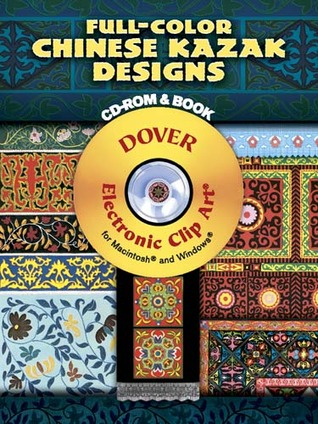 Full-Color Chinese Kazak Designs CD-ROM and Book