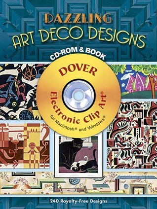 Dazzling Art Deco Designs CD-ROM and Book