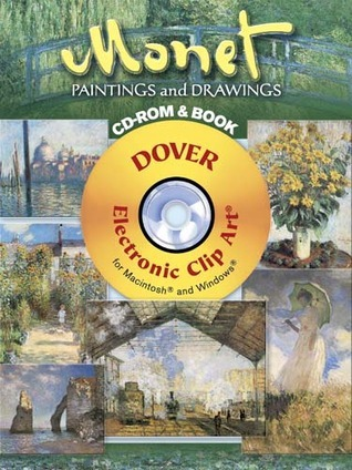 Monet Paintings and Drawings CD-ROM and Book