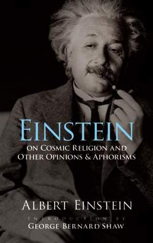 On Cosmic Religion and Other Opinions and Aphorisms