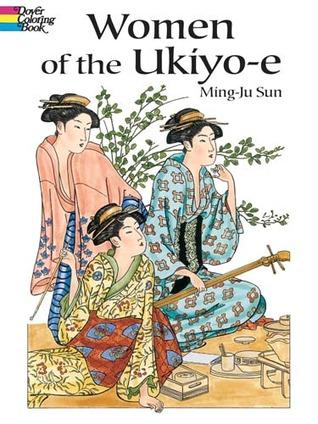 Women Of Ukiyo E Coloring Book By Ming Ju Sun