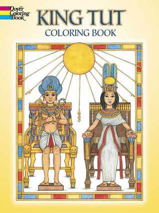 King Tut Coloring Book