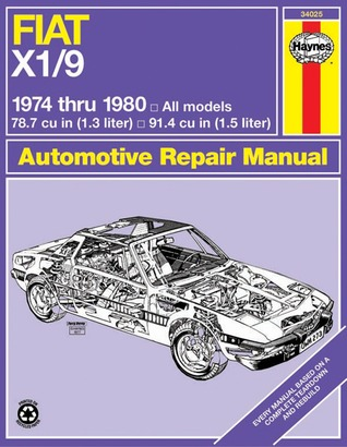 Fiat X1/9 Automotive Repair Manual