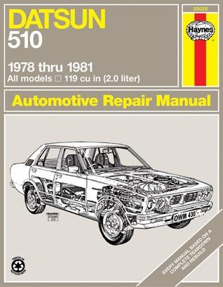 Datsun 510 1978 thru 1981