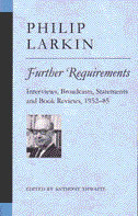 Further Requirements by Philip Larkin
