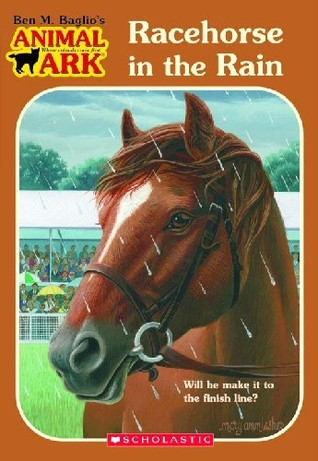 Racehorse in the Rain