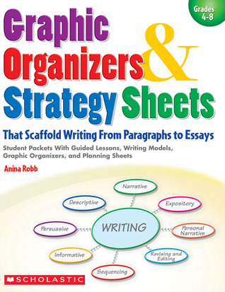 Graphic Organizers  Strategy Sheets That Scaffold Writing From Paragraphs to Essays: Student Packets With Guided Lessons, Writing Models, Graphic Organizers, and Planning Sheets