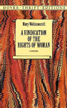 a vindication of the rights of w by mary wollstonecraft