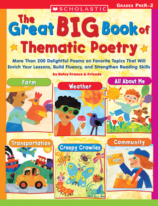Great Big Book of Thematic Poetry: More Than 200 Delightful Poems on Favorite Topics That Will Enrich Your Lessons, Build Fluency, and Strengthen Reading Skills