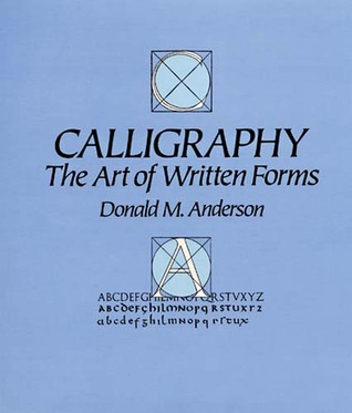 Calligraphy by Donald M. Anderson