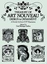 Treasury of Art Nouveau Design & Ornament. A Pictorial Archive of 577 Illustrations.