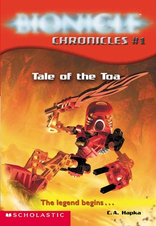 bionicle tale of the toa pdf