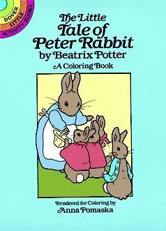 The Little Tale of Peter Rabbit Coloring Book