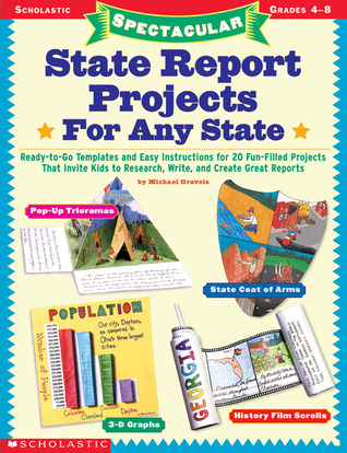 State Report Projects for Any State by Michael Gravois