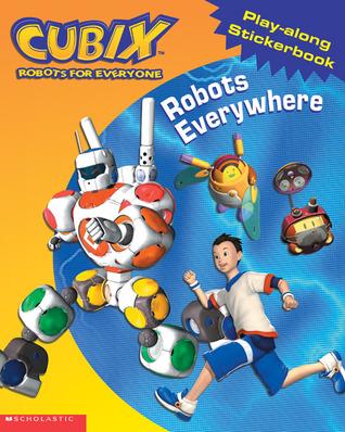 Robots Everywhere!: Play-Along Sticker Book