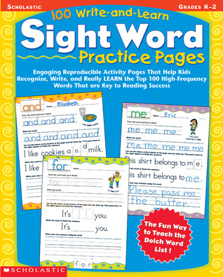 100 Write-and-Learn Sight Word Practice Pages: Engaging Reproducible Activity Pages That Help Kids Recognize, Write, and Really LEARN the Top 100 High-Frequency Words That are Key to Reading Success por Terry Cooper FB2 TORRENT