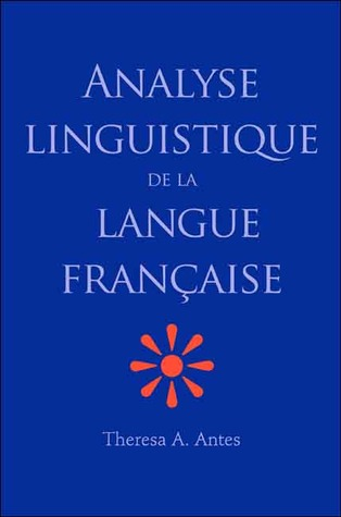 Analyse linguistique de la langue française