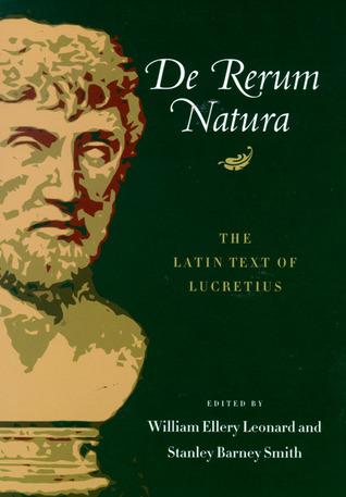 De Rerum Natura: The Latin Text of Lucretius