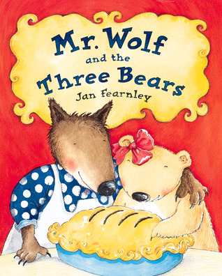 Mr Wolf And The Three Bears By Jan Fearnley