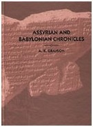 Assyrian And Babylonian Chronicles