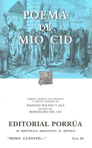 Poema De Mio Cid By Anonymous