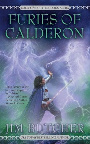 Jim Butcher: Codex Alera Series