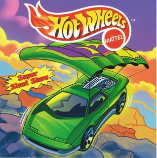 Hot Wheels 8x8 Storybook - Super Stunt Show
