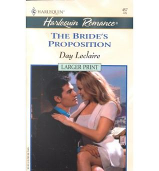 The Bride's Proposition by Day Leclaire