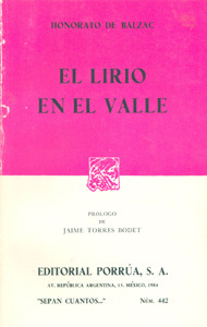 El Lirio En El Valle (Sepan Cuantos, #442)
