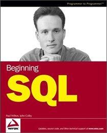 Beginning SQL
